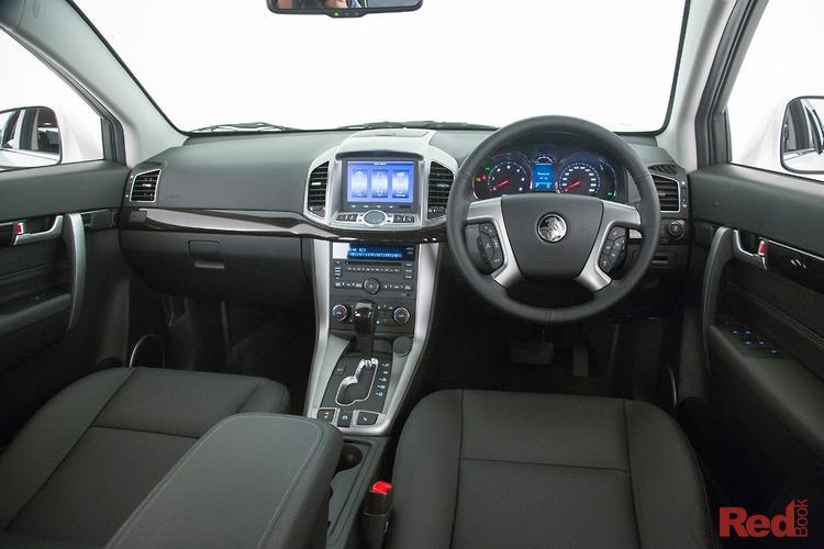 2014 Holden Captiva 7 LTZ CG MY14 4X4 On Demand