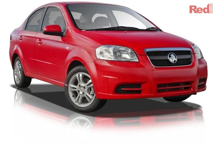 2011 Holden Barina  TK MY11
