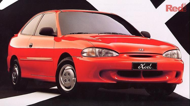 1995 Hyundai Excel GX X3