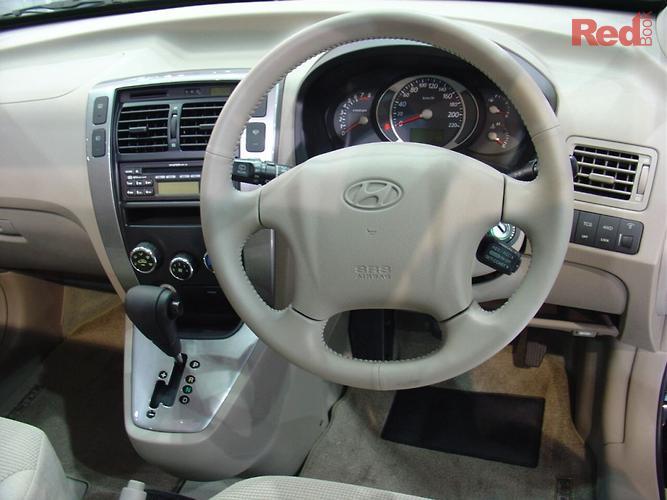 2005 Hyundai Tucson Elite JM 4X4 On Demand