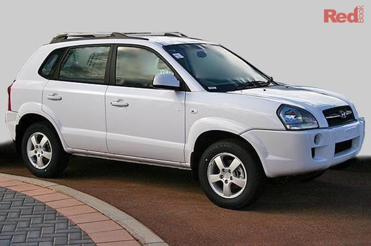 2008 Hyundai Tucson City SX JM MY07