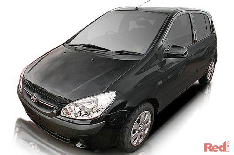 2009 Hyundai Getz SX TB MY09