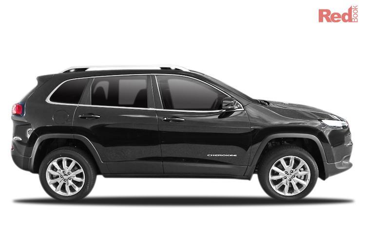 2014 Jeep Cherokee Limited KL MY15 4X4 Dual Range