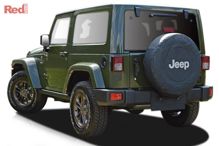 2016 Jeep Wrangler 75TH Anniversary JK MY16 4X4 Dual Range