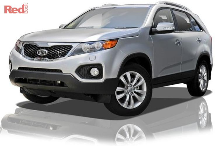 2010 KIA Sorento Platinum XM MY11 Four Wheel Drive