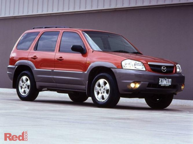 2005 Mazda Tribute Luxury MY04 4X4 On Demand