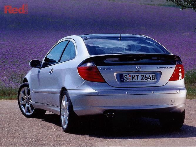 2003 Mercedes-Benz C-Class C200 Kompressor Sports CL203 MY03