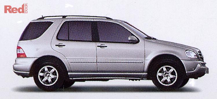 2005 Mercedes-Benz M-Class ML350 Luxury W163 MY04 4X4 Dual Range