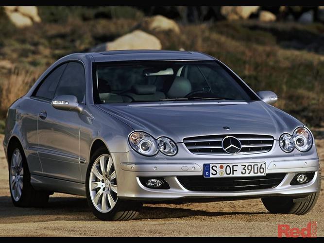 2006 Mercedes-Benz CLK350 Avantgarde C209 MY06