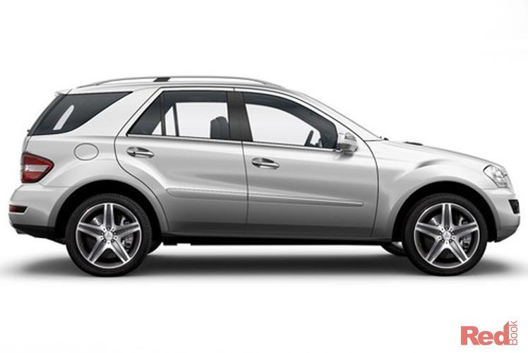 2010 Mercedes-Benz M-Class ML350 AMG Sports W164 MY10 4X4 Constant