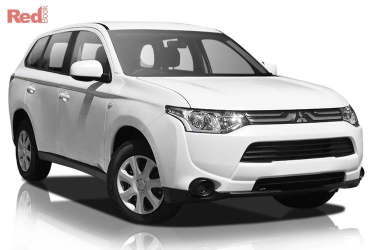 2013 Mitsubishi Outlander ES ZJ MY13