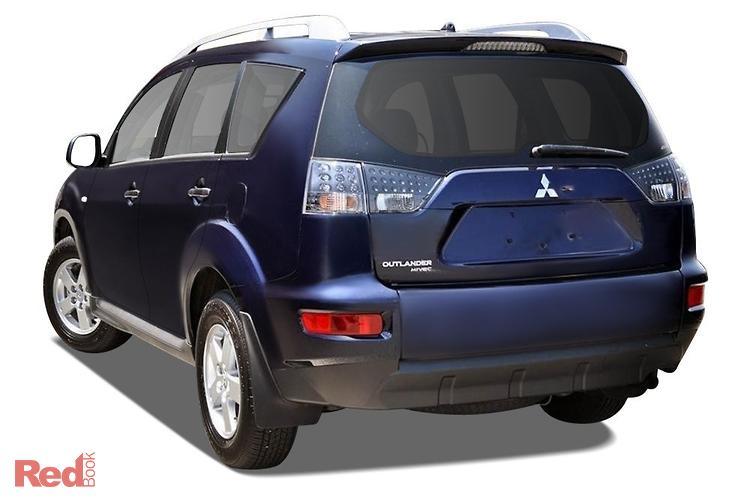 2010 Mitsubishi Outlander LS ZH MY10