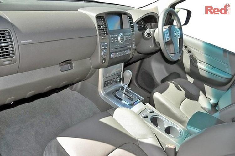 2012 Nissan Pathfinder TI R51 MY10 4X4 Dual Range