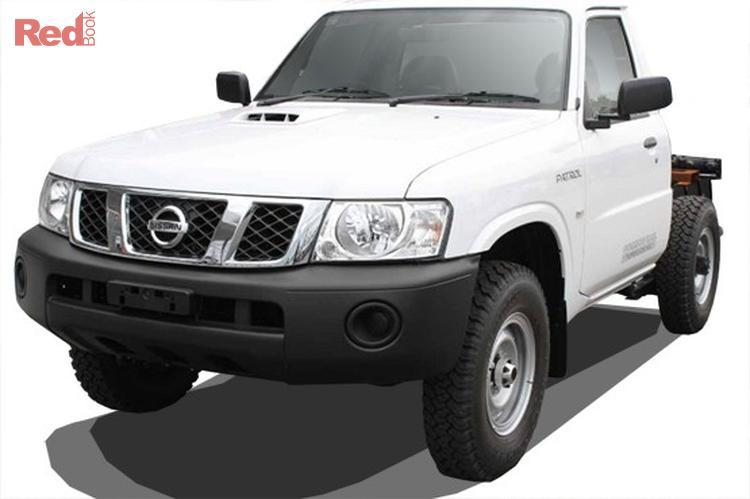 2013 Nissan Patrol DX GU 6 MY13 4X4 Dual Range