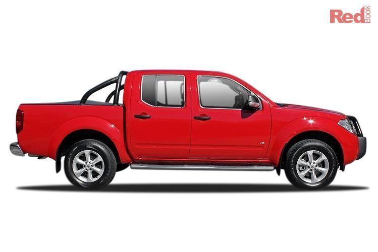 2012 Nissan Navara ST-X Blackline D40 Series 5