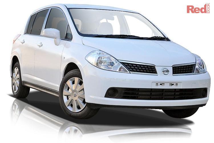 2009 Nissan Tiida ST C11 MY07