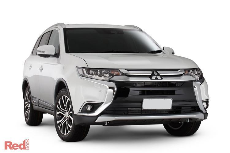 2018 Mitsubishi Outlander Exceed ZL MY18.5