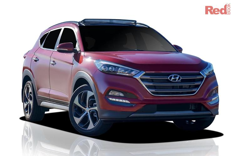2018 Hyundai Tucson Highlander TLE2 MY18