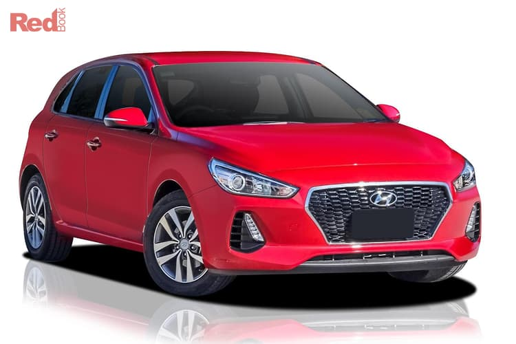 2018 Hyundai I30 Active PD MY18