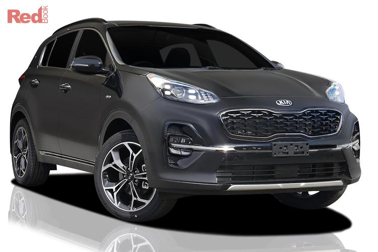 2018 kia sportage gt line ql my19 4x4 on demand fiery red. Black Bedroom Furniture Sets. Home Design Ideas