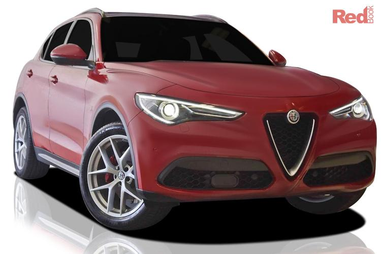2018 Alfa Romeo Stelvio TI (NO Series) 4X4 On Demand