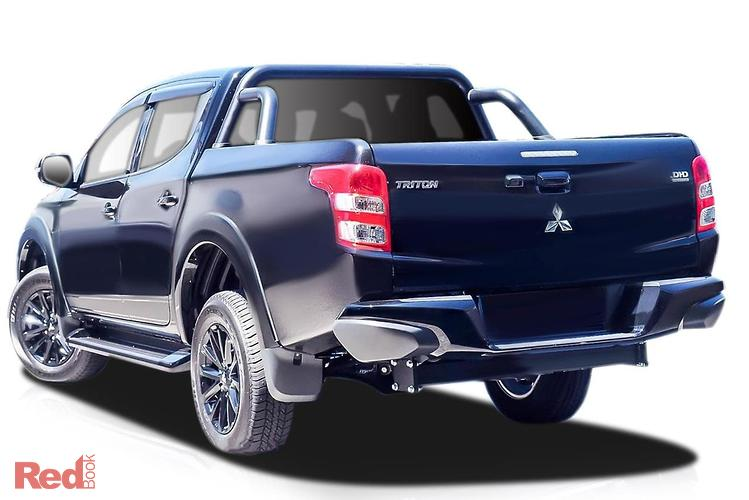 2018 Mitsubishi Triton Blackline MQ MY18