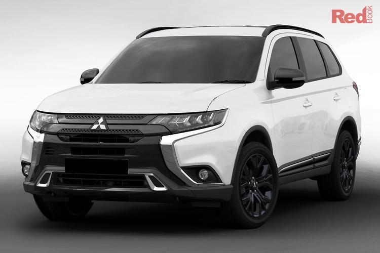 2018 Mitsubishi Outlander Black Edition ZL MY19