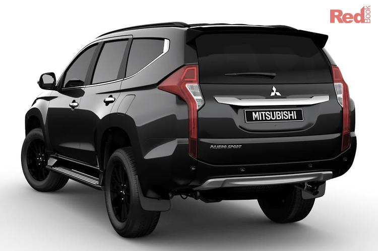 2019 Mitsubishi Pajero Sport Black Edition QE MY19