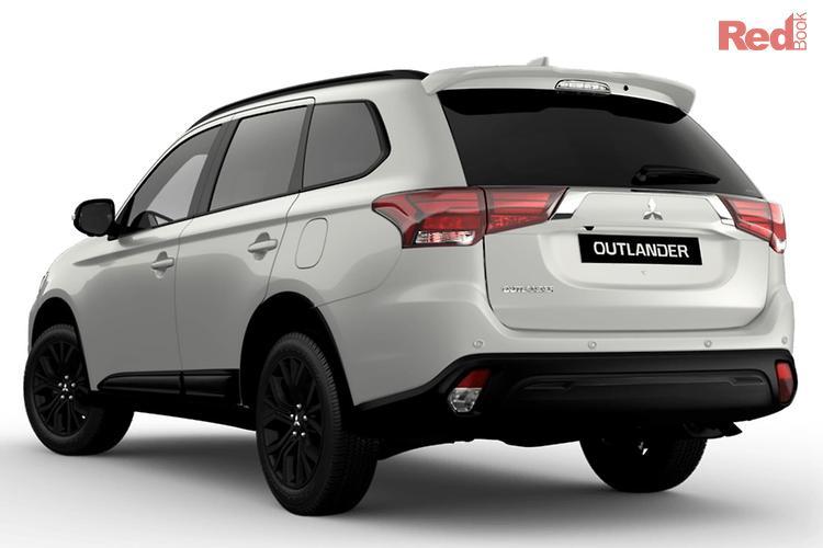 2019 Mitsubishi Outlander Black Edition ZL MY19