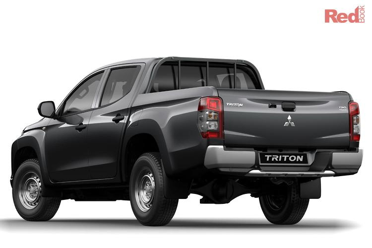 2019 Mitsubishi Triton GLX MR MY19 4X4 Dual Range