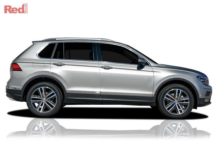 2019 Volkswagen Tiguan 162TSI Highline Allspace 5N MY19.5 Four Wheel Drive