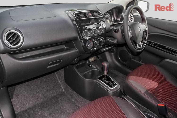 2019 Mitsubishi Mirage Black Edition LA MY19