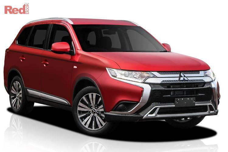 2018 Mitsubishi Outlander ES Adas ZL MY18.5