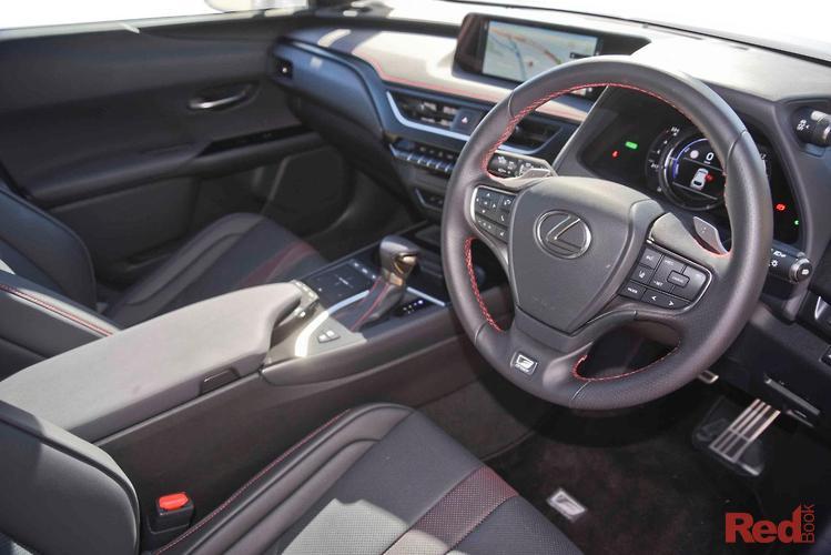 2019 Lexus UX UX250H F Sport MZAH15R AWD
