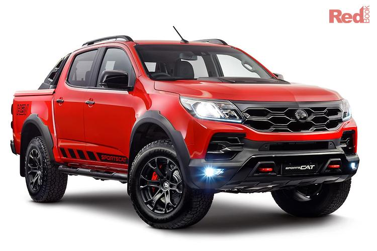 2019 Holden Special Vehicles Colorado Sportscat SV RG Series 2 4X4 Dual Range
