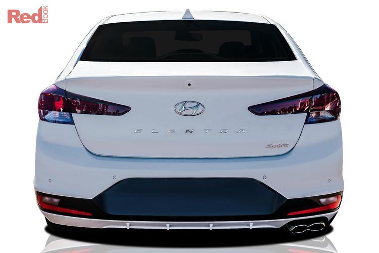 2019 Hyundai Elantra Sport AD.2 MY19