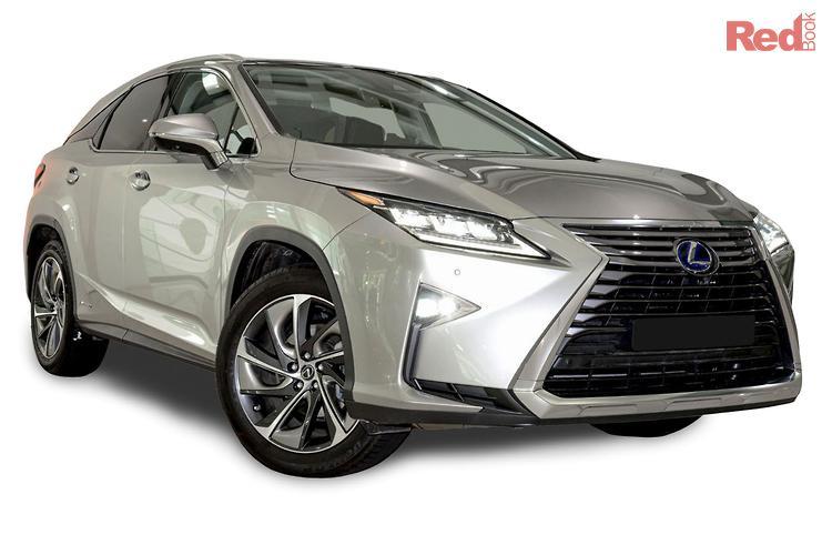 2019 Lexus RX RX450H Sports Luxury GYL25R 4X4 On Demand