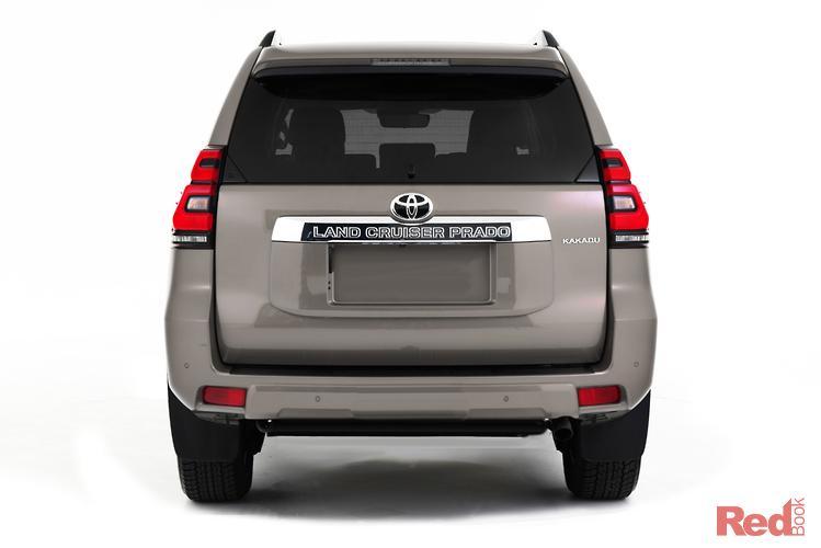 2019 Toyota Landcruiser Prado Kakadu GDJ150R 4X4 Dual Range