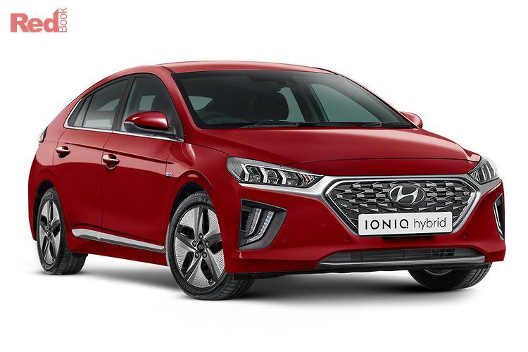 2020 Hyundai Ioniq Hybrid Premium AE.V4 MY21