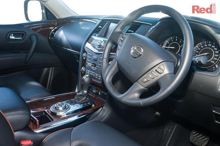 2020 Nissan Patrol TI Y62 Series 5 MY20 4X4 Dual Range