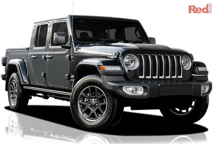 2021 Jeep Gladiator Overland JT MY21 4X4 On Demand
