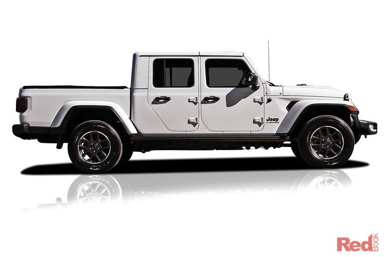 2020 Jeep Gladiator Overland JT MY20 4X4 On Demand