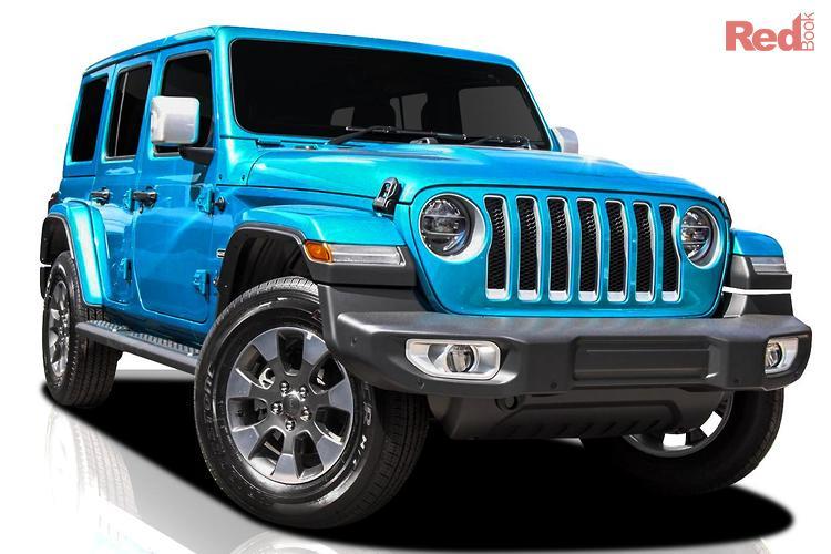 2020 Jeep Wrangler Overland JL MY20