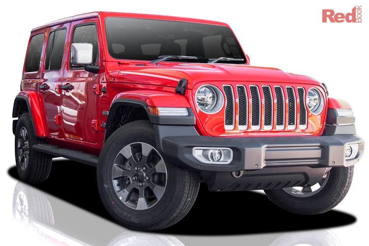 2021 Jeep Wrangler Unlimited Overland JL MY21 V2 4X4 Dual Range