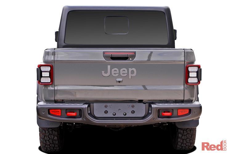 2020 Jeep Gladiator Rubicon JT MY20 4X4 On Demand