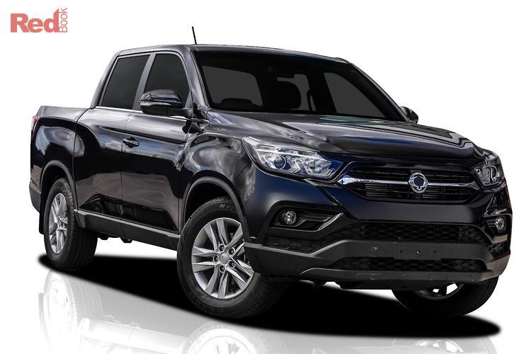 2021 Ssangyong Musso ELX Q200 MY20.5 4X4 Dual Range