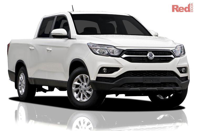 2021 Ssangyong Musso ELX Q201 MY20.5 4X4 Dual Range