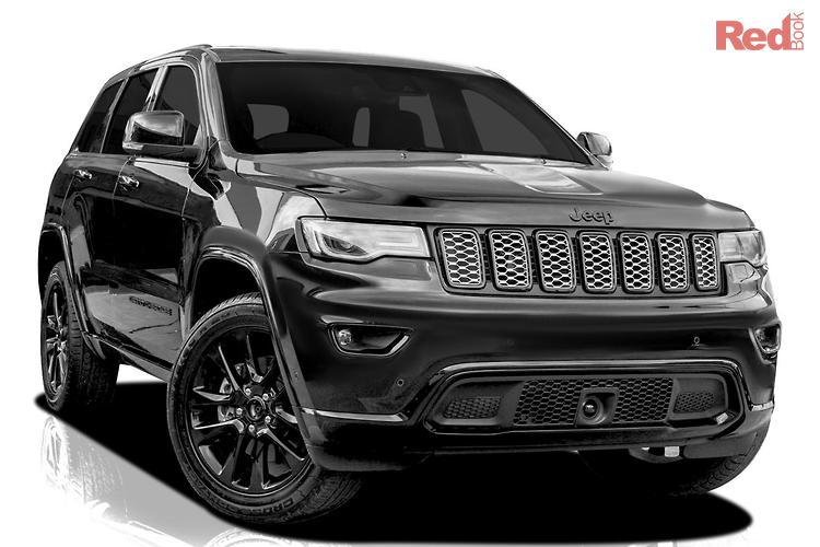 2020 Jeep Grand Cherokee Night Eagle WK MY20 4X4 Dual Range
