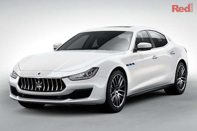 2021 Maserati Ghibli Hybrid M157 MY21