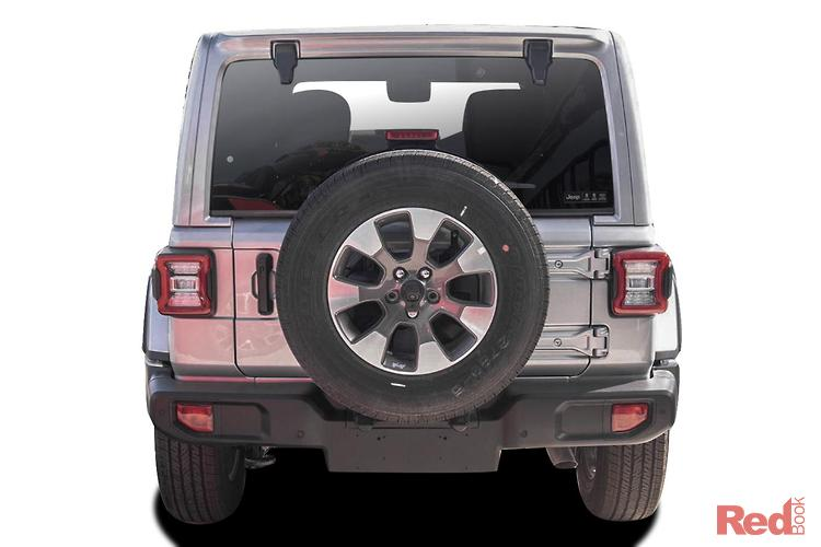 2021 Jeep Wrangler Unlimited Overland JL MY21 4X4 Dual Range